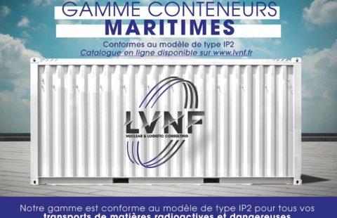 Conteneur IP2 transport matières radioactives et dangereuses